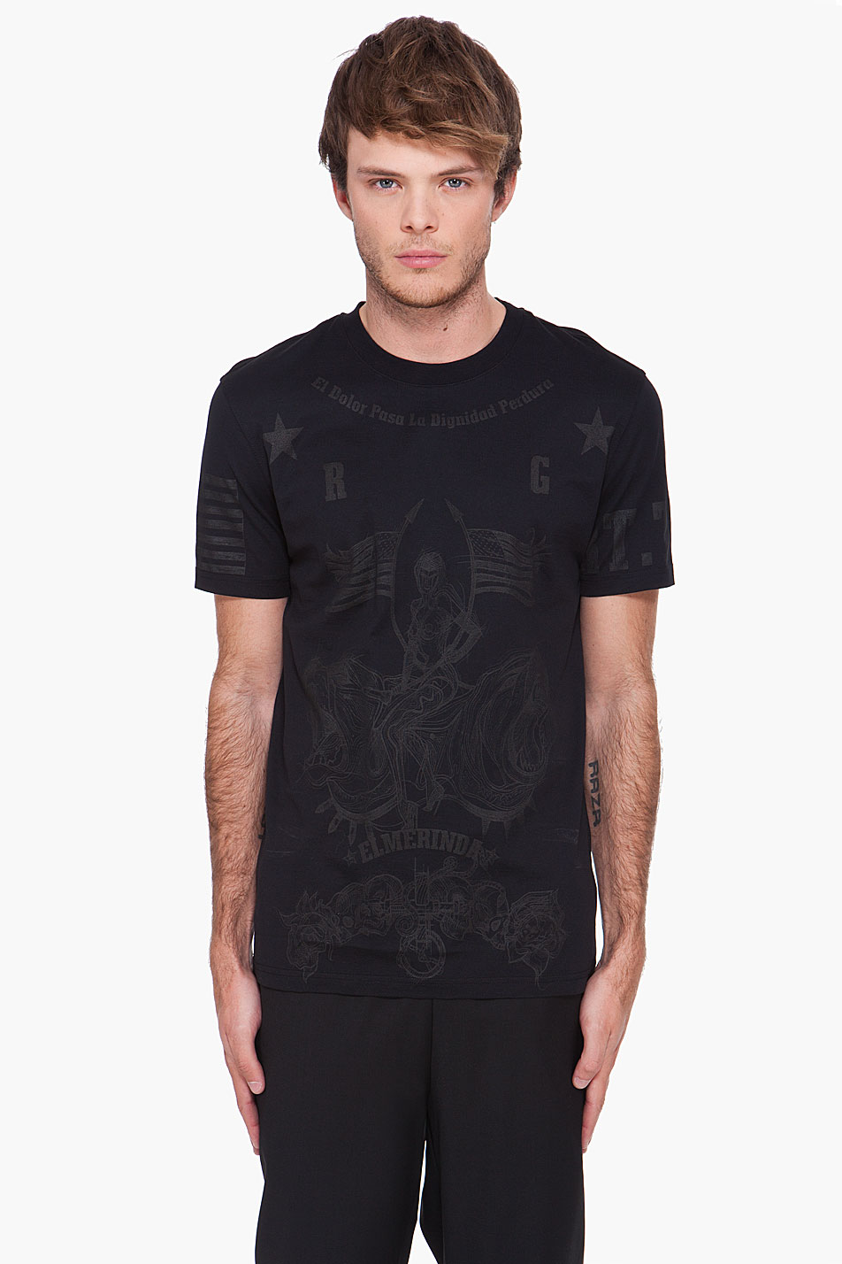 Givenchy Limited Edition Elmerinda T Shirt In Black For