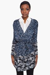 Matthew Williamson Space Dye Knit Cardigan - Lyst