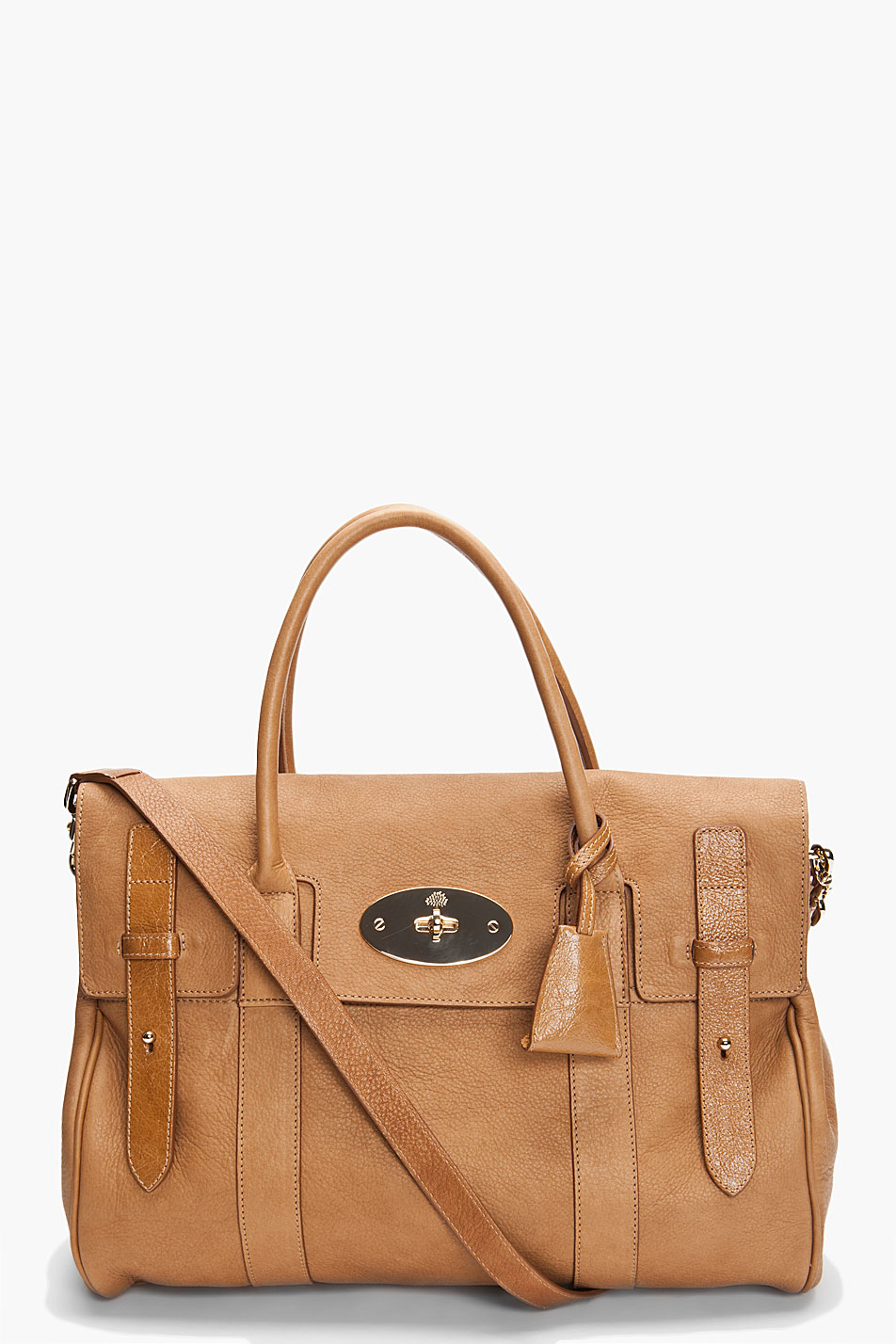 de1a77095a93 Mulberry Heritage Bayswater Satchel in Brown