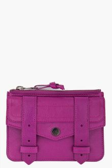 Proenza Schouler Ps1 Small Purple Zip Wallet - Lyst
