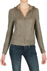 Backinbag Light Nappa Fold Away Leather Jacket - Lyst