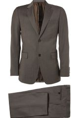 Gucci Slimfit Wool Suit in Gray for Men - Lyst