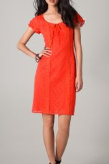 Nanette Lepore Lion Tamer Lace Dress - Lyst