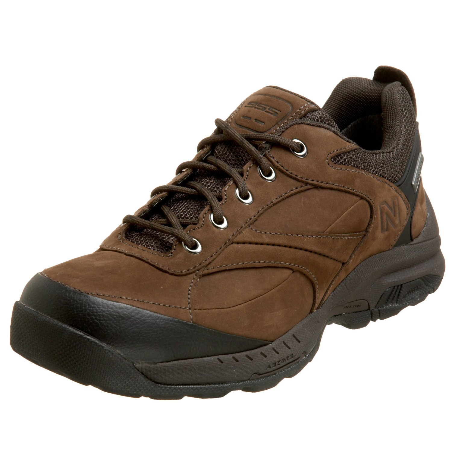 new balance mens mw955 walking shoe in brown for lyst