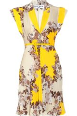 Paul & Joe Flaucour Printed Silk Dress - Lyst