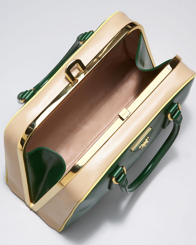 prada ponyhair frame bag