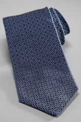 Armani Fancy Geometric Tie, Navy in Red for Men (navy) - Lyst