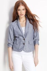 Caslon® Two Button Shrunken Blazer - Lyst