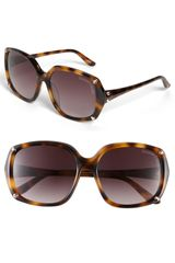 Christian Lacroix Oversized Sunglasses - Lyst