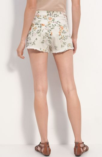 Citizens Of Humanity Chloe High Waist Floral Cutoff Shorts - Lyst