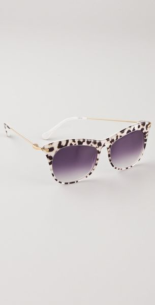 Elizabeth And James Limited Edition Leopard Fairfax Sunglasses - Lyst