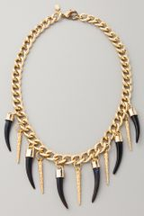 Fallon Jewelry Bijan Long Horn Necklace - Lyst