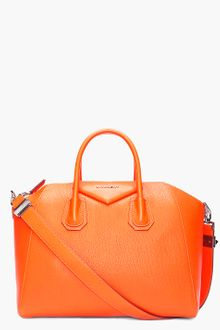 Givenchy Orange Antigonia Medium Tote - Lyst