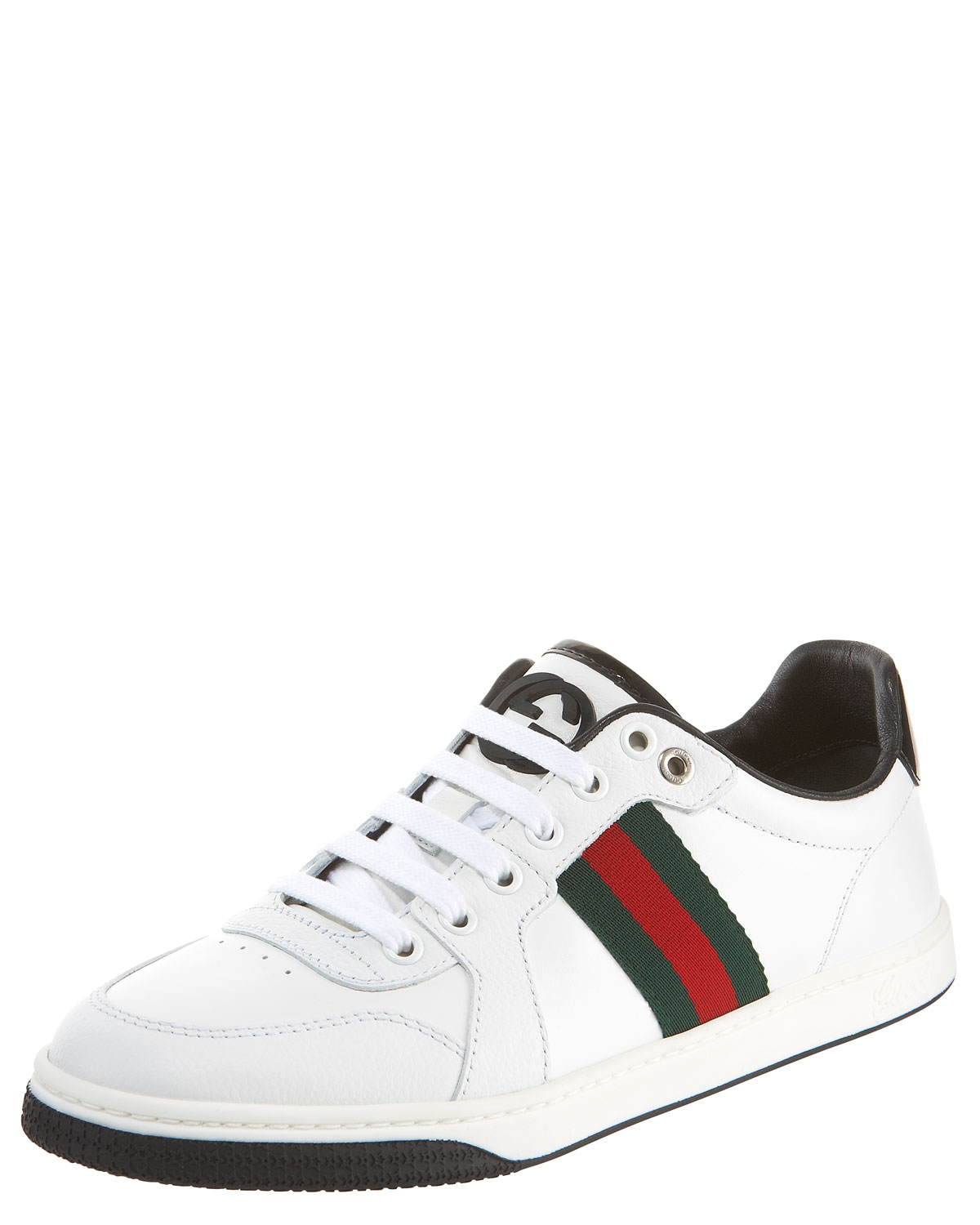 f5f81c599 Gucci Coda Low Lace-up Sneaker in White - Lyst