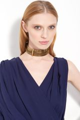Lanvin Chain Choker Necklace - Lyst