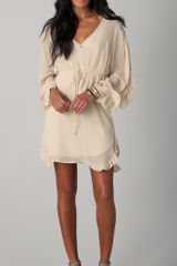 Madison Marcus Flourish Long Sleeve Dress - Lyst
