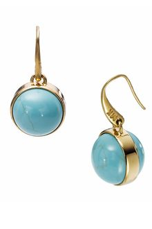 Michael by Michael Kors  Sleek Exotics Drop Earrings - Lyst