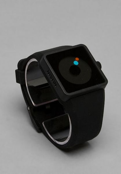 Nixon The Newton in Black - Lyst