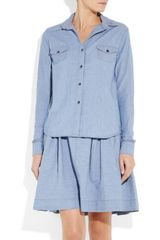 Preen Line Pie Crust Chambray Shirt - Lyst