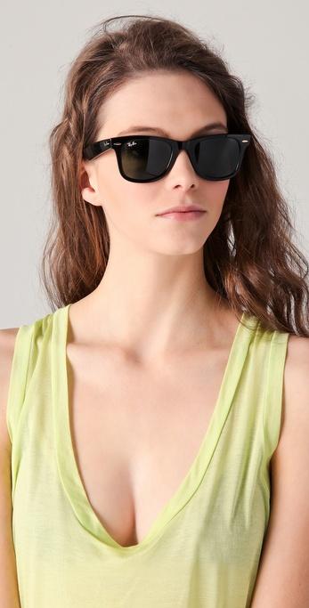 f7272e7a34 Lyst - Ray-Ban Original Wayfarer Sunglasses in Black