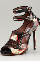 Tabitha Simmons Bailey Multi-strap Pump - Lyst