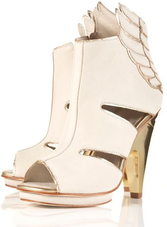 Topshop Wing High Sandals By Unique** - Lyst