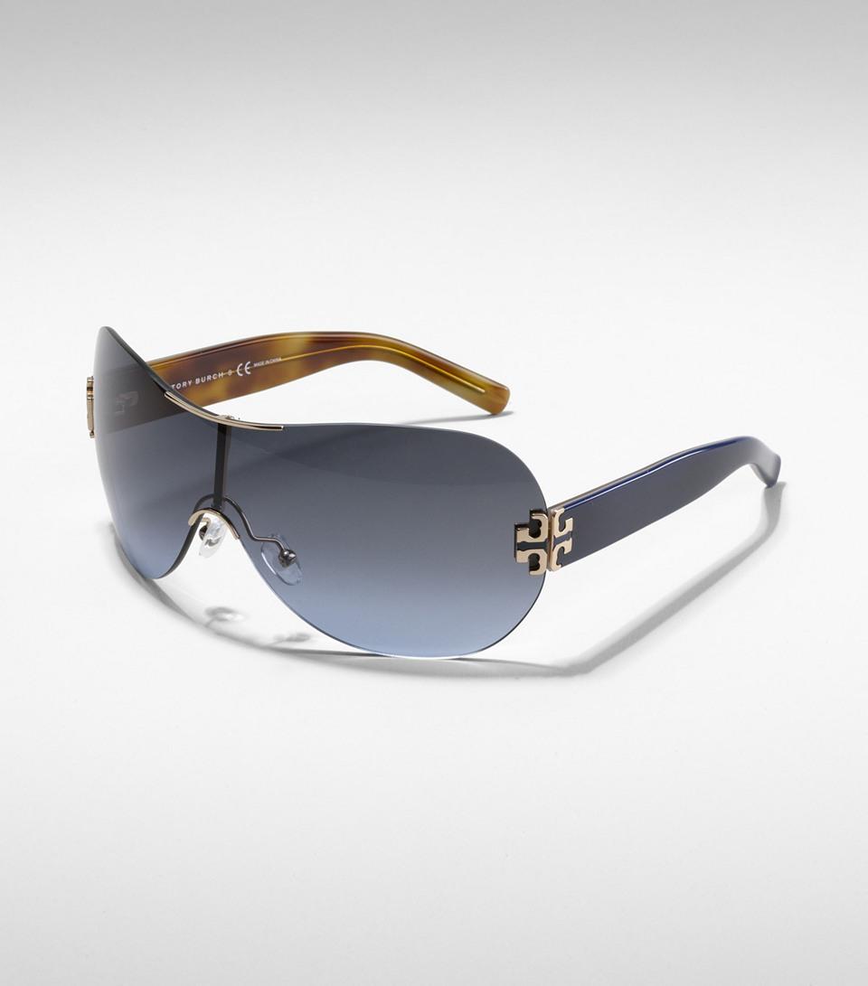 89ca3c04587 Gothic Logo Rimless Sunglasses