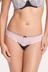 Betsey Johnson Eyelet Lace Thong - Lyst
