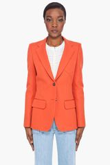 Chloé Orange Three Pocket Blazer - Lyst
