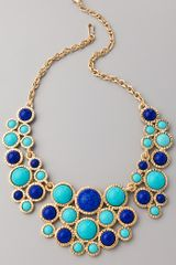 Kenneth Jay Lane Bib Necklace - Lyst