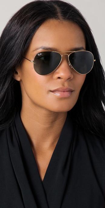 e61b3f11205 Lyst - Ray-Ban Original Aviator Sunglasses in Metallic