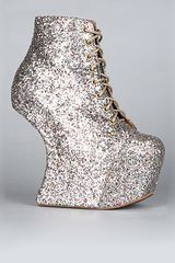 Jeffrey Campbell The Night Lita Shoe in Multi Glitter (exclusive) - Lyst