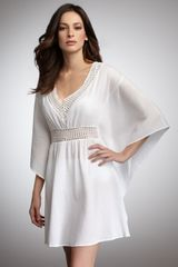 La Blanca Butterfly Coverup in White - Lyst