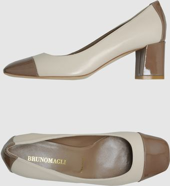 Bruno Magli Closedtoe Slipons - Lyst