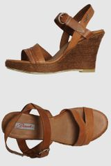 Diesel Wedge in Brown (black) - Lyst