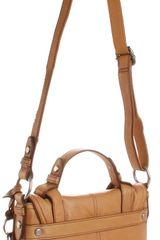 Fossil Maddox Organizer Flap Cross Body in Brown (camel) - Lyst