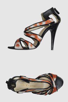 Sophie Gittins High Heeled Sandals - Lyst