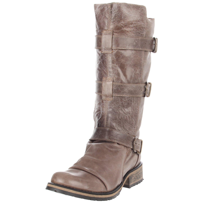 steve madden steve madden womens buckkie boot in brown