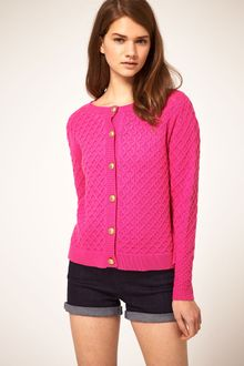 ASOS Collection Asos Cardigan in Honeycomb Stitch - Lyst