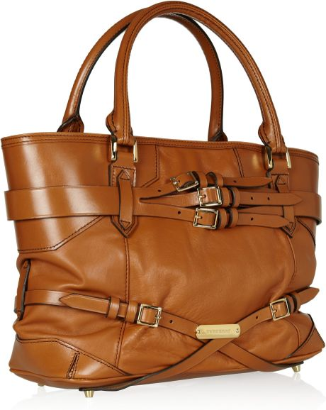 Burberry Brown Leather Shoulder Bag 111
