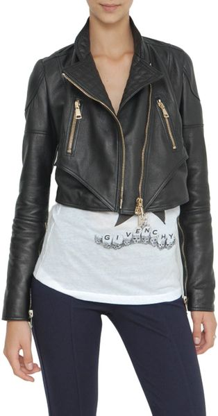 Givenchy Leather Biker Jacket - Lyst