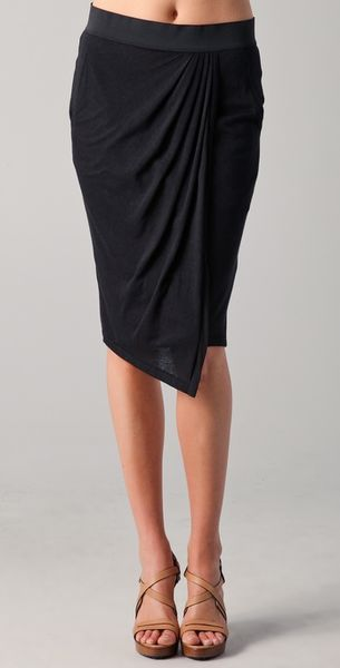 Rag & Bone Eugenia Skirt in Black - Lyst