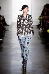 Suno Fall 2012 Printed Shirt In White - Lyst
