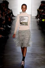 Suno Fall 2012 Illustrated Turtleneck Jumper - Lyst