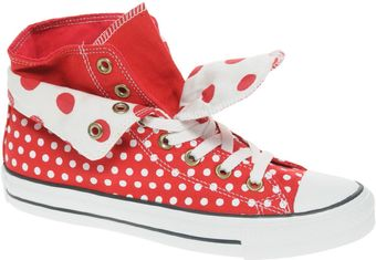 Converse All Star Two Fold Hi Top Trainers - Lyst