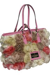 Valentino 3 Coloured Small Rosier Bag in Floral - Lyst