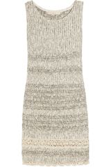Vanessa Bruno Cotton-blend Knitted Dress - Lyst