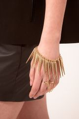 ASOS Collection Asos Double Finger Spike Hand Harness - Lyst