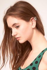 ASOS Collection Asos Three Spike Ear Cuff - Lyst