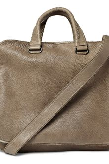 Bottega Veneta Banded Full Grain Leather Tote Bag - Lyst